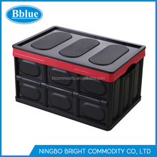 Collapsible Storage Bin Container Folding Plastic Storage Crate Utility Distribution Container