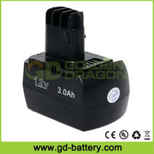 12V Metabo Power Tool Battery Cordless Tool Battery For Metabo 6.02151.50
