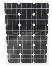 80W 12v mono crystalline solar panel solar module photovoltaic panel for travel camping garden light caravan motor homes
