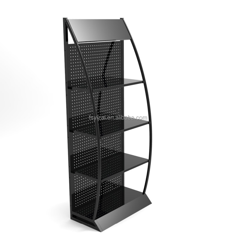 beautiful auto parts display racks/oil display stand