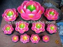Wholesale Lotus Flower Buddhism Candles LT225