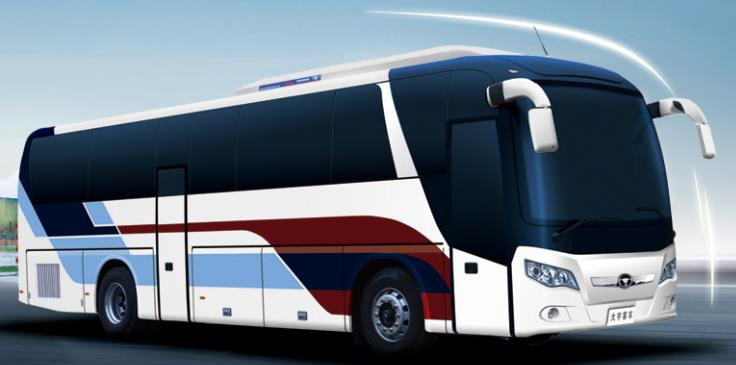 50 seats daewoo luxury passenger bus for sale