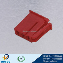 14471 red plastic PBT 2pinautomotive electrical connector