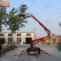 Factory Sale Towable articulated boom spider lifts for sale