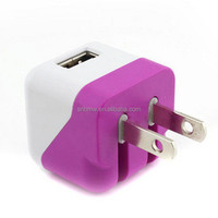 Cell Phone Accessory Factory Portable Travel Charger USB Wall Charger With UK Plug