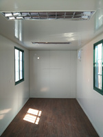 China price container house with wheels for sale from container yard