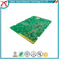 Hard electrolytic plating gold pcb board