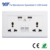 best selling products uk distribut universal 13 amp double electrical socket usb wall socket