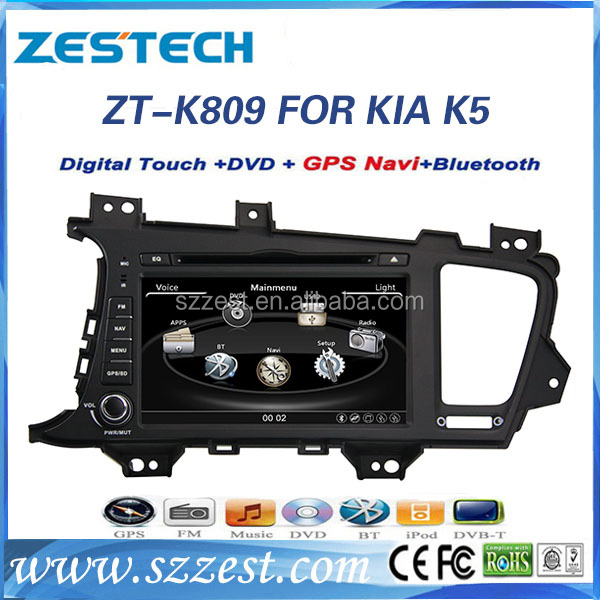 Touch screen car dvd player for KIA optima K5 car radio dvd gps with 3G function