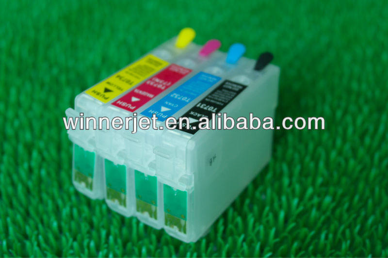 most welcome! refill ink cartridge for epson T0731-T0734, Stylus CX3900/CX4900/CX4905/CX5600/CX5900F/CX6900F