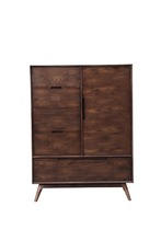 2016 Vintage Style North European Wooden Sideboard With Drawers For Living Room