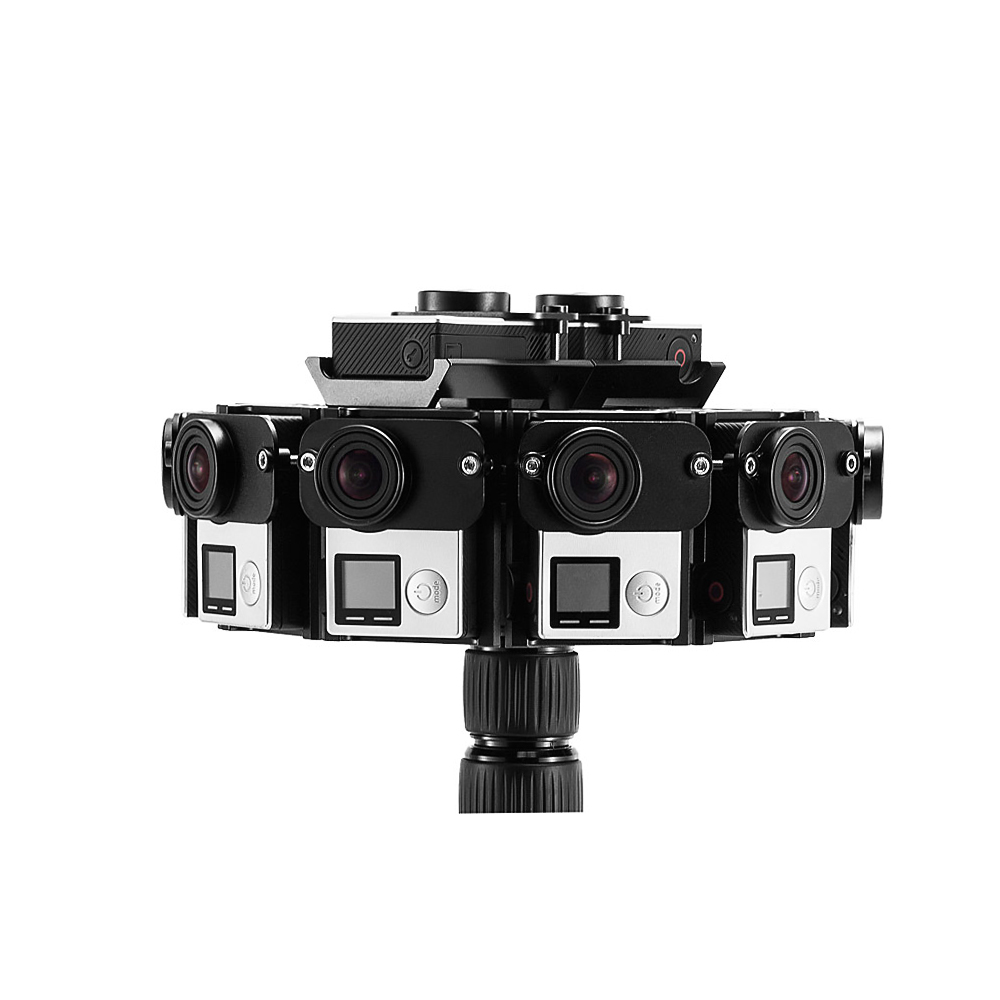 nieuwe 2016 gopro accessoires 360 graden mount 12 gopro camera aluminium panorama frame schieten. Black Bedroom Furniture Sets. Home Design Ideas