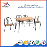 2016 hot selling dining table set, tables and chairs