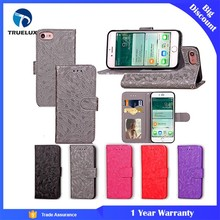 Top Performance Supplier Handmade Craft Card Leather Case For iPhone 7