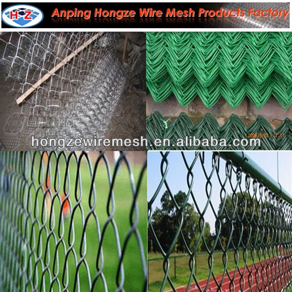 Beautiful Surface Chain Link Fence /Zoo Chain Link Fence