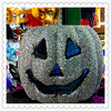 new products scary shaped foam white craft pumpkins for decoration