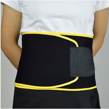Factory Direct Custom shaper slimming waist support sweat back belt for men women