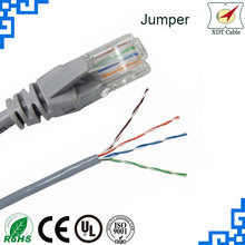 Patch Cable factory supply cat5 network extension cable utp cat5e lan cable 4pr 24awg