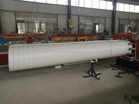 Easy-transportation Large diameter u-pvc wrapping pipe