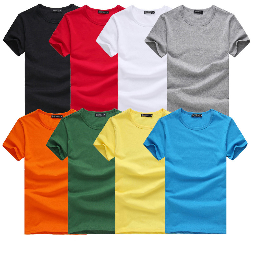 2017 China Custom Bulk T-shirt 100% Cotton High Quality Plain T ...