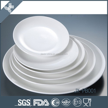 Turkish round restaurant white cheap german porcelain dinnerware wholesale