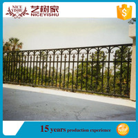 aluminum fencing solid design can be used vineyard\house\garden/Hot-selling aluminum garden fence, aluminum fence slats