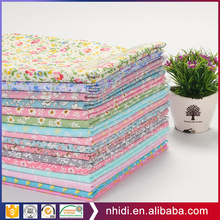 Wholesale factory custom comfortable flower printed 100% cotton twill fabric