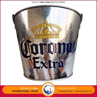 Hot New Products For 2016 OEM Brand Welcomed Galvanized Sheet Beer Ice Bucket