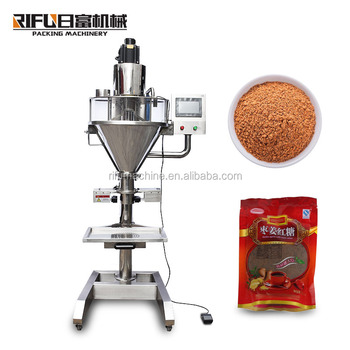 1-5kg auger dosing milk coffee protein juice banana flour packaging machine / smei auto powder packaging machine