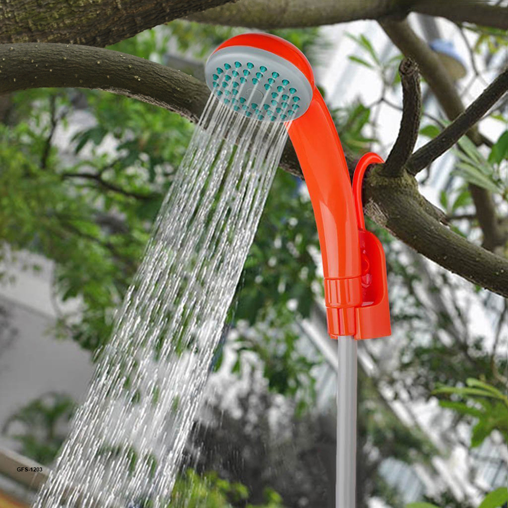 Portable Outdoor Shower with bidet shower head