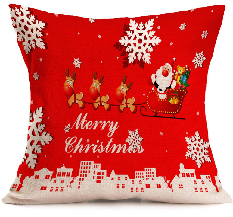 2018 Hot sale christmas <strong>decorations</strong> for home pillowcase /stuffed Christmas pillows