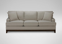 european living room sofa 3 seater fabric PU leather option sofa