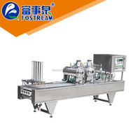 Best selling promotional price thermoforming plastic cup heat filler machine
