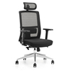 High quality business staff adjustable height computer office chairs with wheels