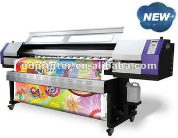 Galaxy Eco solvent DX5 UD-181LB inkjet printer/Youtube keyword: UD Printer