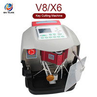 2014 Newest Automatic V8/X6 Auto Key Cutting Machine With Free V2013 Database LS04002