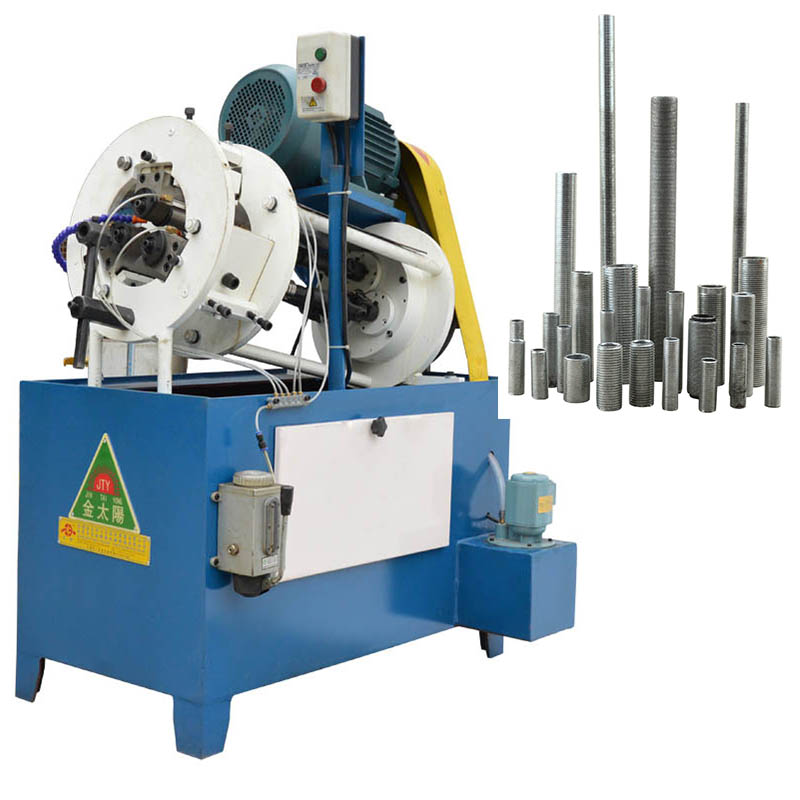 Hongbo <strong>M10</strong>-M16 automatic all thread hollow pipe thread rolling machine HB-16