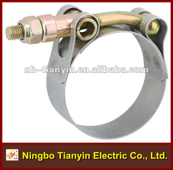 T Type High Pressure Stainless Steel Hose Clamp