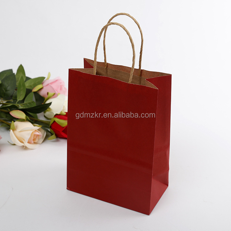 Wholesale China factory hotsale plain brown paper tea packaging bag