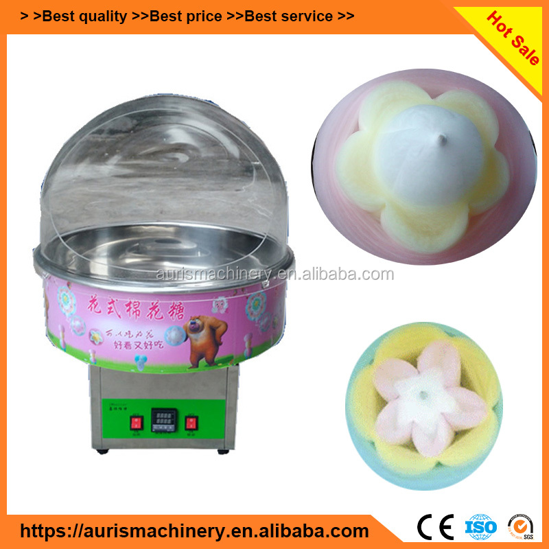 mini commercial electric cotton candy floss machine