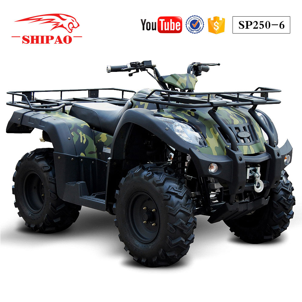 SP250-6 Shipao water cooled atv amphibious utility vehicle