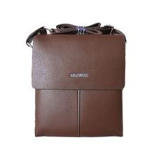 China factory price Shoulder Man Leather Messenger Bags office briefcase business phone and laptop bags mini computer bag