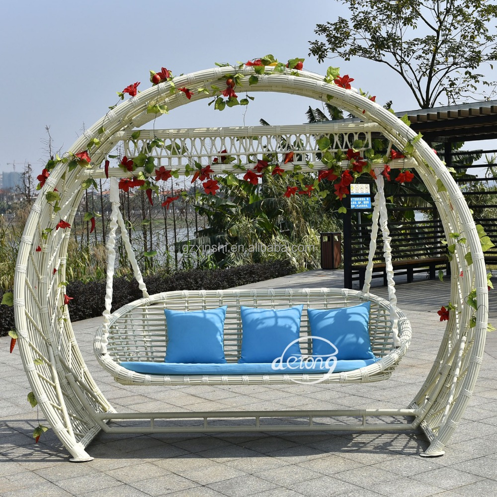outdoor round swing outdoor rattan furniture swing seats product on