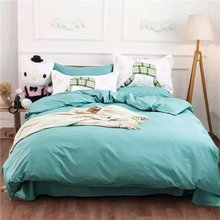 Factory wholesale cotton simple lines thermal bed sheets