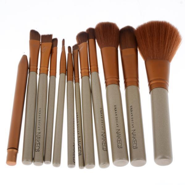 12Pcs/set Professional Cosmetic Makeup Brushes Set Beauty Makeup Powder Brushes Eyeline Lip Eye Shadow Mascara Brush Kit Lady