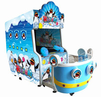 2016 Happy Water War Redemption Amusement game Machine /Touch Screen Water Shooting Game for hot sale Happy Penguins