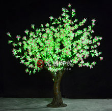 RGB with remote control Optic fibre led flower light tree/outdoor led christmas tree lights