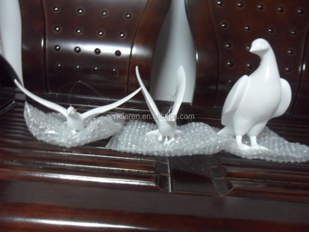 Resin Lovely Bird Home Decoration Craft