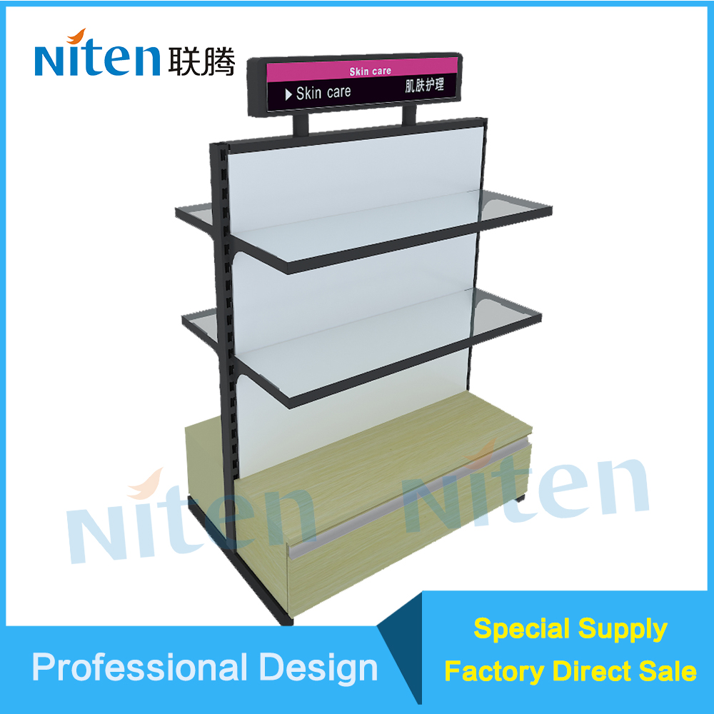 Cosmetic Product Metal sports Supermarket Equipment Rack
