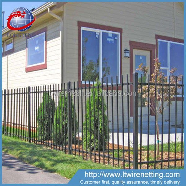 Professional manufacturer supply low price wrought iron fence,new type wrought iron fence